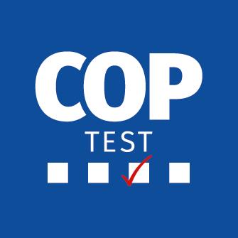 logo Coptest, oposiciones para la policia