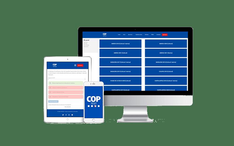 Test online para oposiciones sw policia