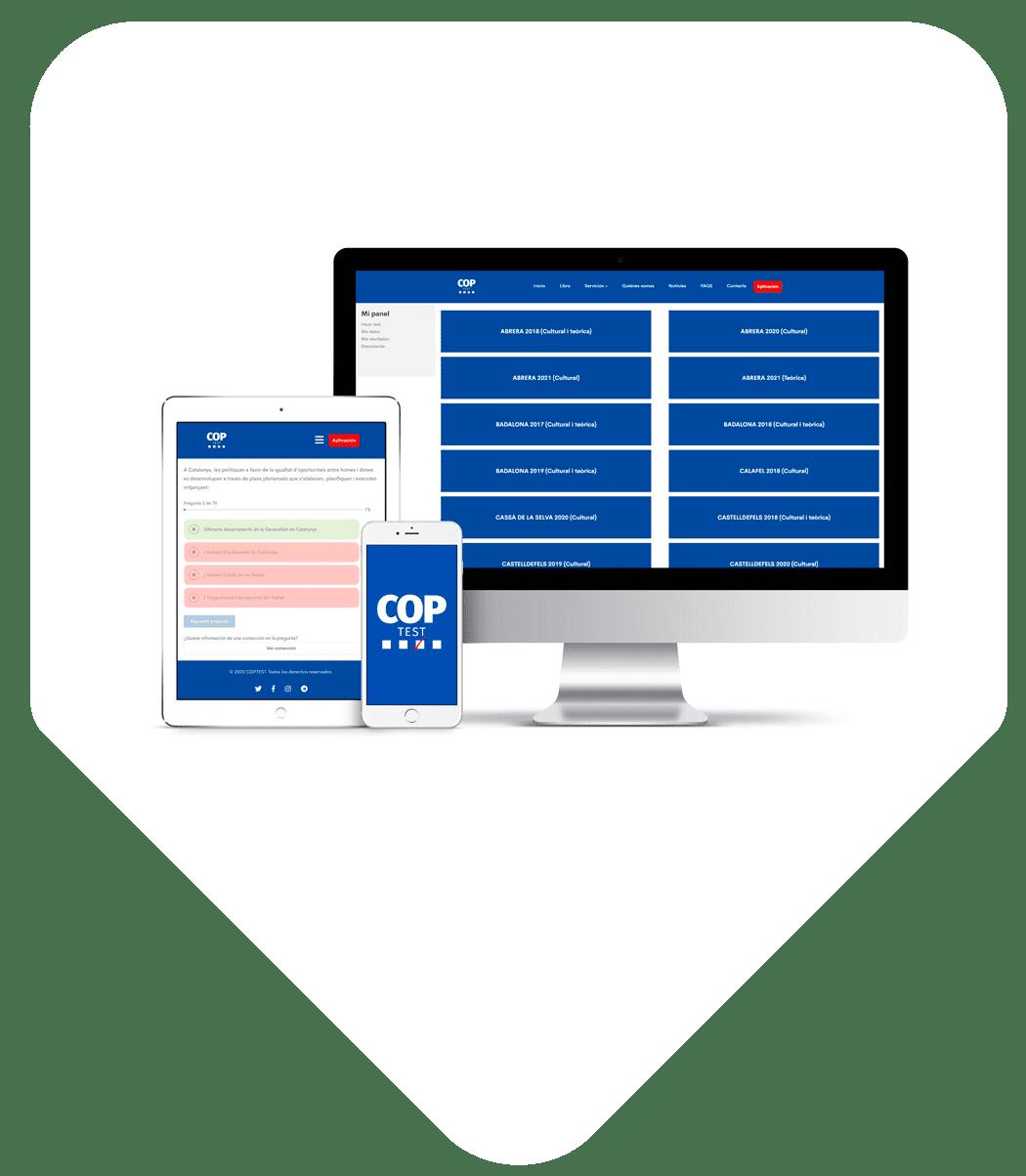 Test online para oposiciones policia