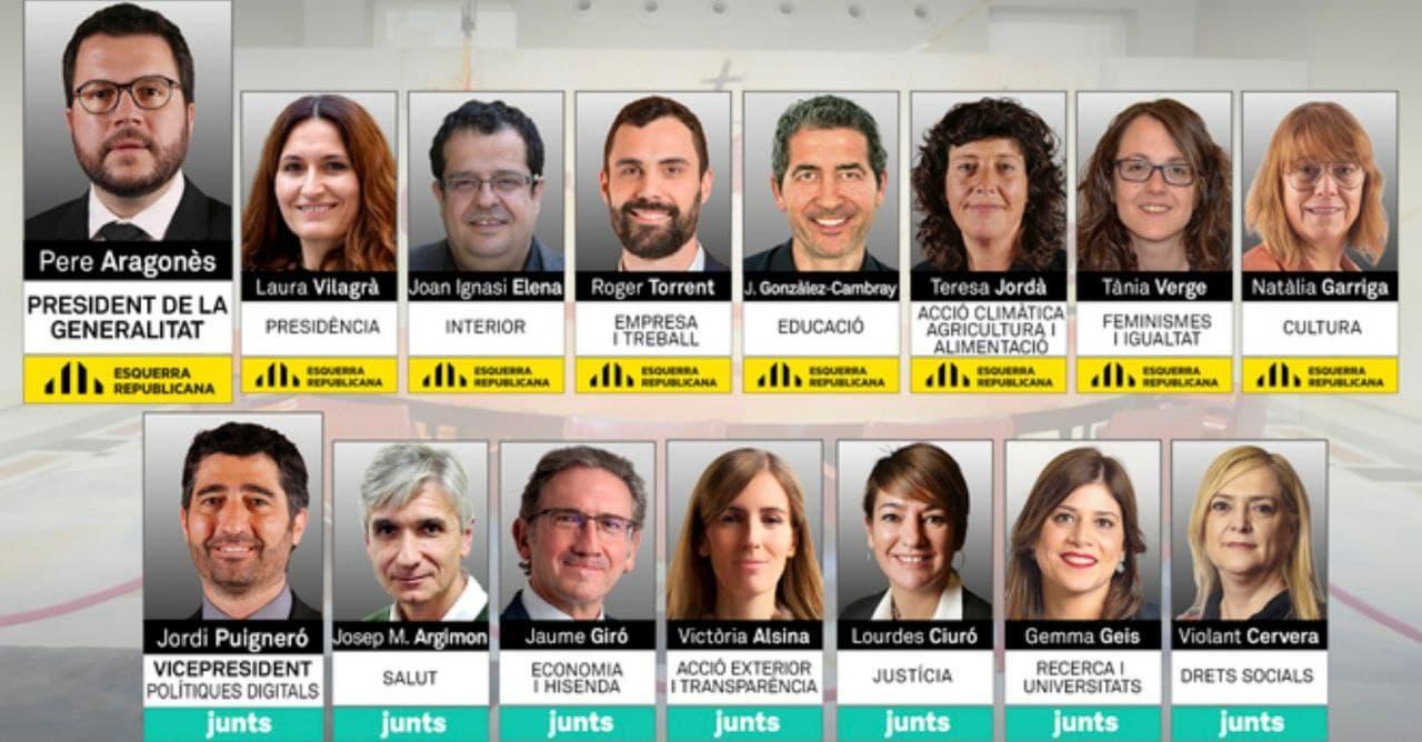 Equip de Govern de la legislatura XIII