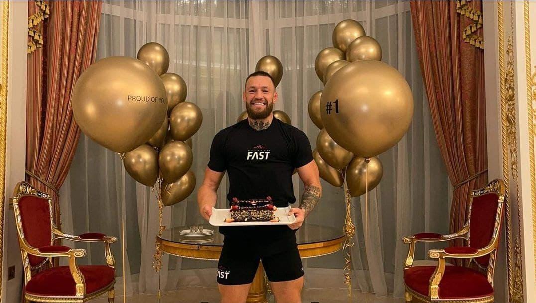 """""""Era un sueño"""": la celebración de Conor McGregor tras convertirse en el atleta más rico del mundo por delante de Cristiano y Messi"""